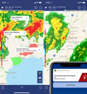 free hurricane tracker app iphone