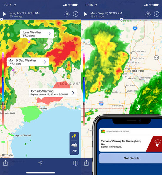 3 Best Hurricane Tracker Apps for iPhone iPad in 2019