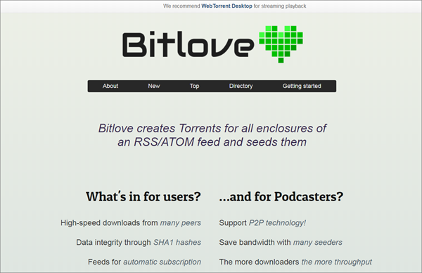 BitLove is one of the Best Alternative Websites to TorrentKing.