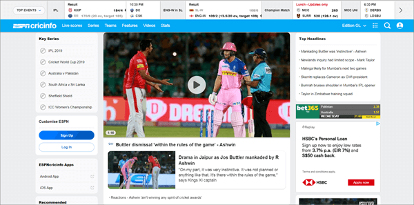 Top 31 Best Streaming Sites to Watch Live Cricket Streaming