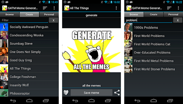 GATM Meme Generator is best Meme Generator Apps for Android Phone.