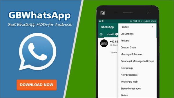 Using GBWhatsApp to Schedule WhatsApp Messages On Android.