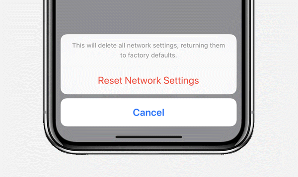 How to Reset Network Settings on iPhone X