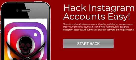 Using Instaleak to Hack an Instagram Account Online