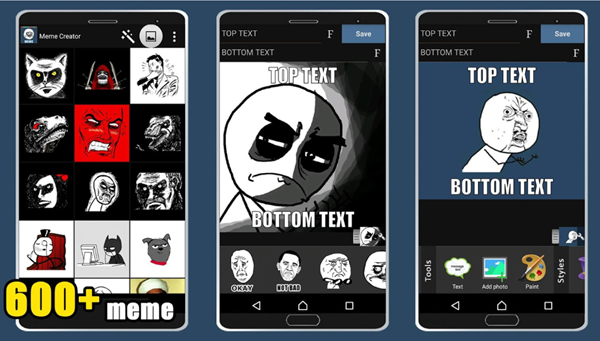 Meme Creator by Top Dogs Developer is best Meme Generator Apps for Android Phone.