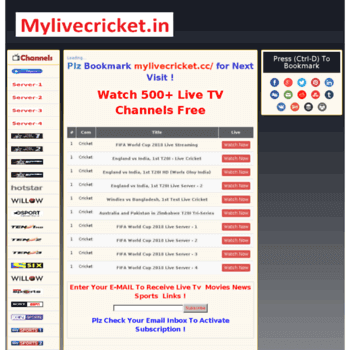 Top 31 Best Streaming Sites to Watch Live Cricket Streaming and