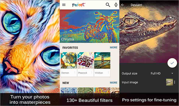 Painnt is one of the Top Picture to Painting Apps for Android.