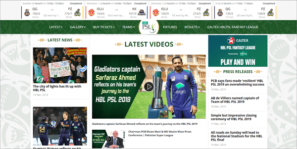 PSL is best Streaming Sites to Watch Live Cricket Streaming and Scores.
