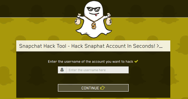 How to Hack a Snapchat Account with Snapchat Hack Tool