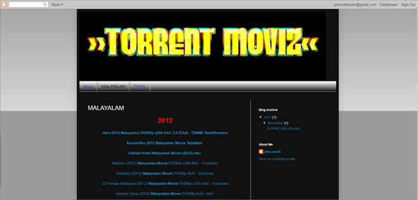 Torrent Moviz is one of the best Torrent Websites to Download Malayalam Movies.
