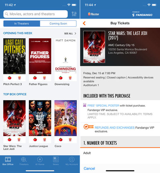 Motion Pictures by Flixster is Best Apps for iphone to Stream & Download Movies.