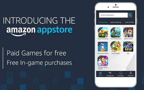 Amazon Appstore is best Android Apps Not Available In Google Play Store.