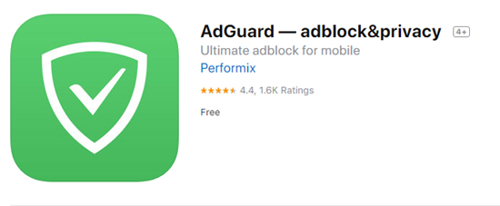 AdGuard is one of the best Ad blocker for iPhone.