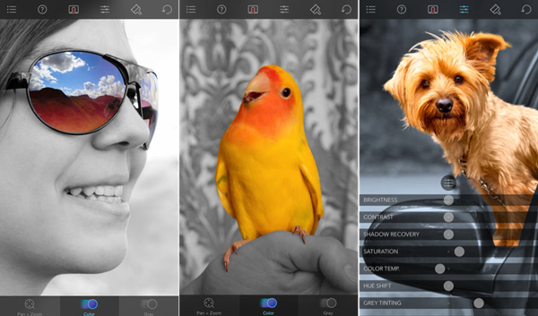 Using Color Splash to Convert Black and White Photos to Color.