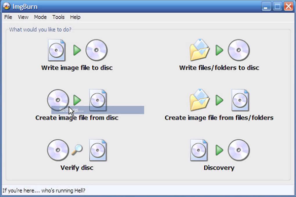ImgBurn is one of the bop best Free DVD Burning Software.