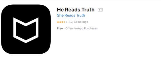 He Reads Truth or She Reads Truth is one of the best Offline & Free Bile Apps for iPhone.