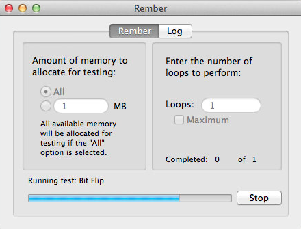 Rember is one of the best Memory Test Tool for Mac.