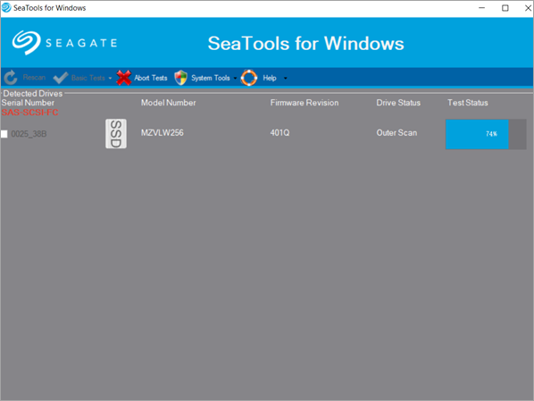 SeaTools by Seagate is one of the best bad Sector Repair Software for Free.