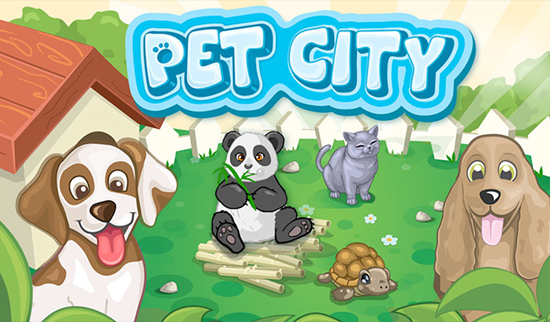 Pet City is one of the best Pets Apps Matching My Talking Tom for iPhone.
