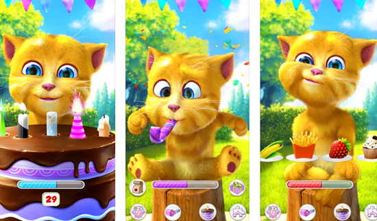 Talking Ginger 2 is one of the best Pets Apps Matching My Talking Tom for iPhone.