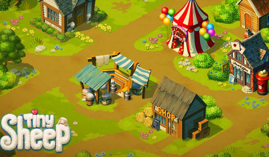 Tiny Sheep is one of the best Pets Apps Matching My Talking Tom for iPhone.
