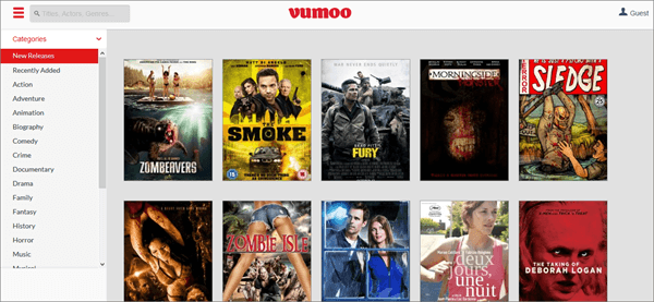 Vumoo is one of the best Movie Sites for You to Download Free 4k Movies.