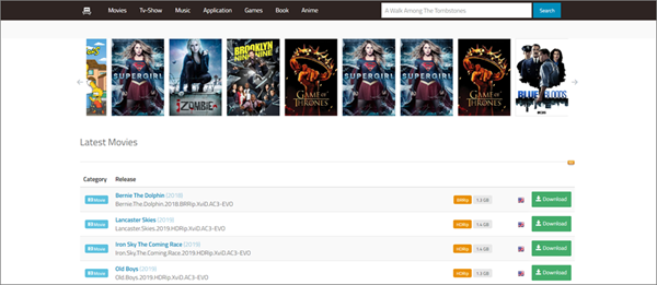01Torrent is one of the best game torrenting sites to download games.