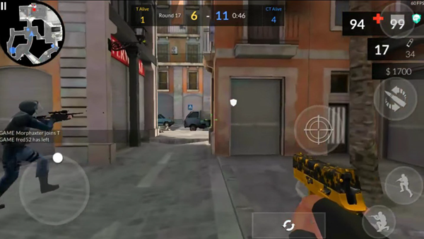 Critical Ops is one of the best local multiplayer recreations for Android.