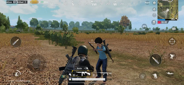 PUBG Mobile is one of the best local multiplayer recreations for Android.