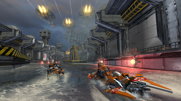 Riptide GP is one of the best local multiplayer recreations for Android.