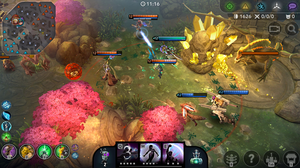 Vainglory is one of the best local multiplayer recreations for Android.