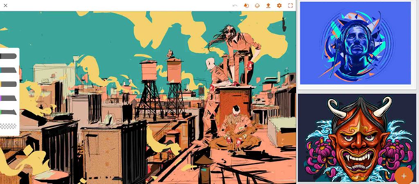Adobe Illustrator drawis one of the best drawing apps for Android.