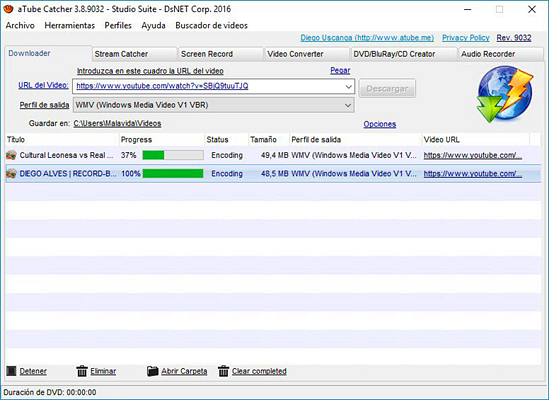aTube Catcher is one of the best free YouTube video downloader PC software.