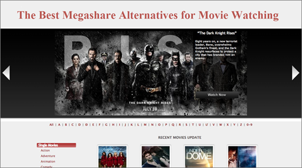 Best Alternatives to Megashare for Movie Watching.