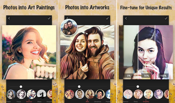 Using Cartoon Photo Filters - CoolArt to Turn Photos into Cartoons and Anime Drawings.