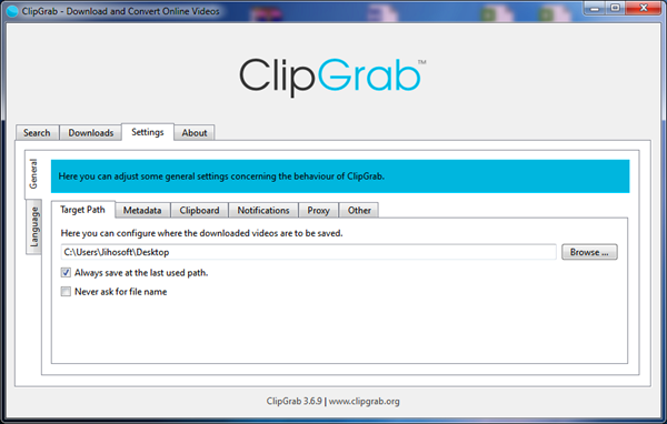 ClipGrab is one of the best free YouTube video downloader PC software.