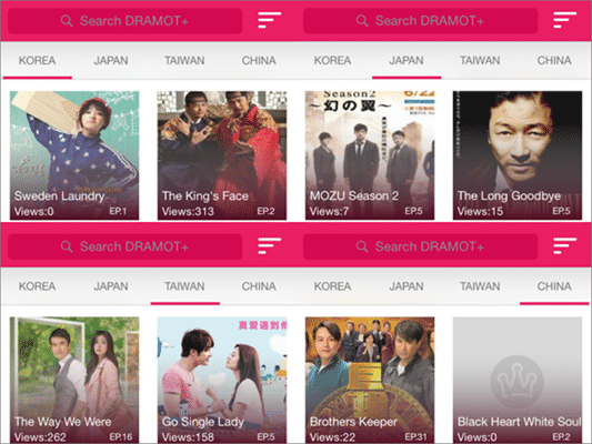 DRAMOT is one of the best sites like KissAsian to watch asian movies/drama.