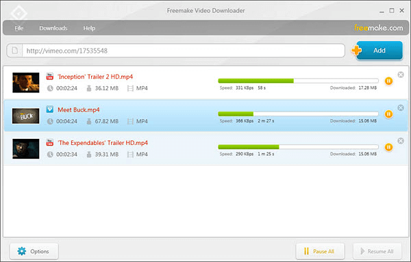 How to download YouTube videos via Freemake Video Downloader