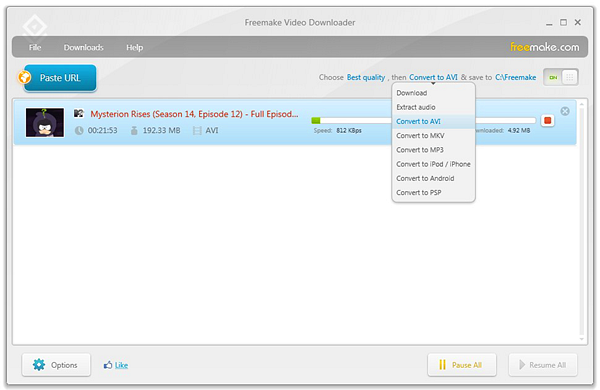 Freemake Video Downloader is one of the best free YouTube video downloader PC software.