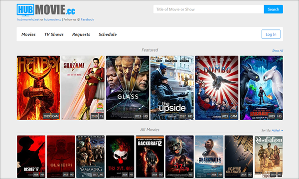 Hubmovie.cc is one of the top best Alternatives to Megashare for Movie Watching.