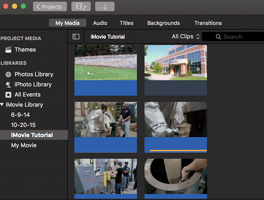 Using iMovie to edit YouTube videos easily.