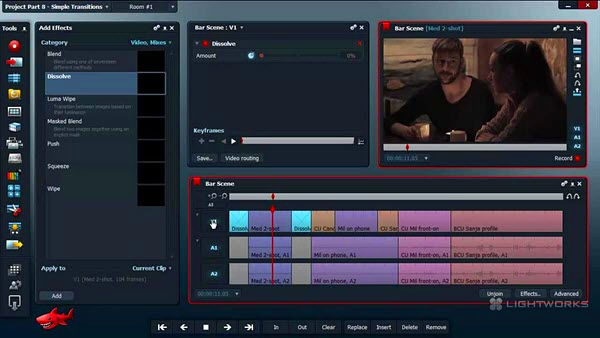 Using Lightworks to edit YouTube videos easily.
