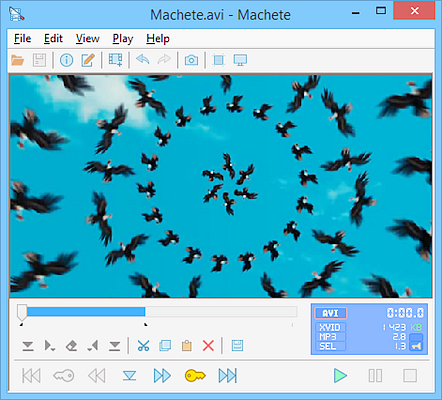 Using Machete Video Editor Lite to edit YouTube videos easily.