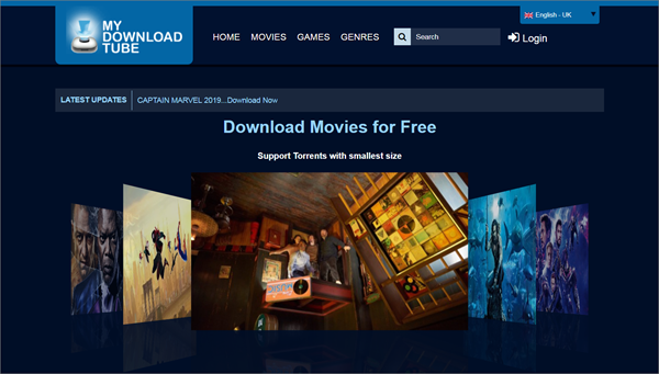 MyDownloadTube is one of the top best Alternatives to Megashare for Movie Watching.
