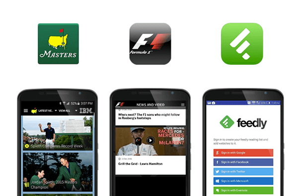 Feedly is one of the best Apps To Watch European Football.