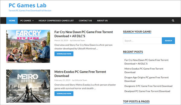 free online torrent download website