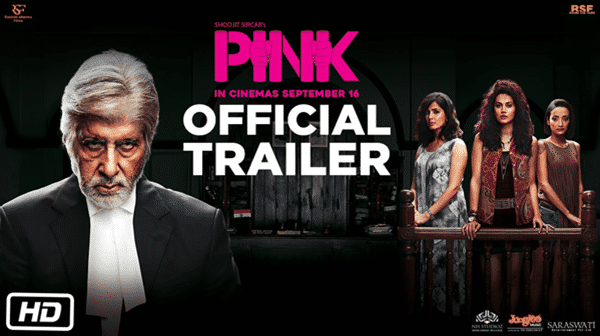 Pink is one of the must watch Bollywood movies on Netflix.