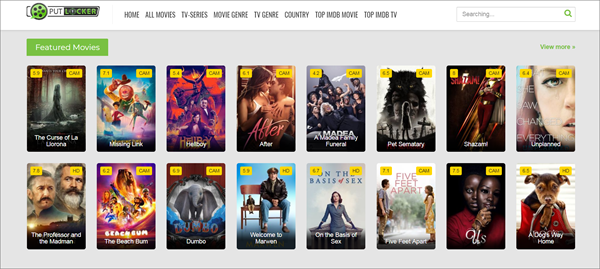 Putlocker is one of the top best Alternatives to Megashare for Movie Watching.