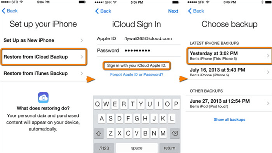 How to Restore Lost Contacts on iPhone from iCloud 2019