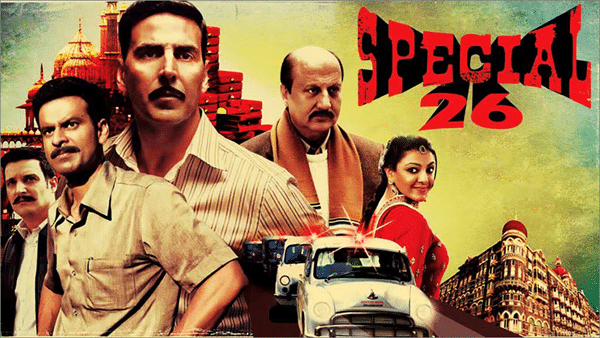 Special 26 is one of the must watch Bollywood movies on Netflix.
